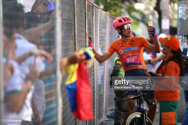 Start / Rigoberto Urán of Colombia and EF Education First Pro Cycling Team / Orange Leader Jersey / during the 2nd Tour of Colombia 2019 Stage 4 a...