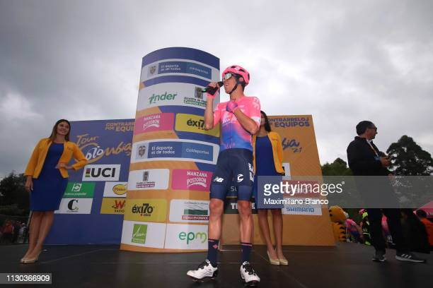 Start / Rigoberto Urán of Colombia and EF Education First Pro Cycling Team / during the 2nd Tour of Colombia 2019, Stage 6 a 173,8km stage from El...
