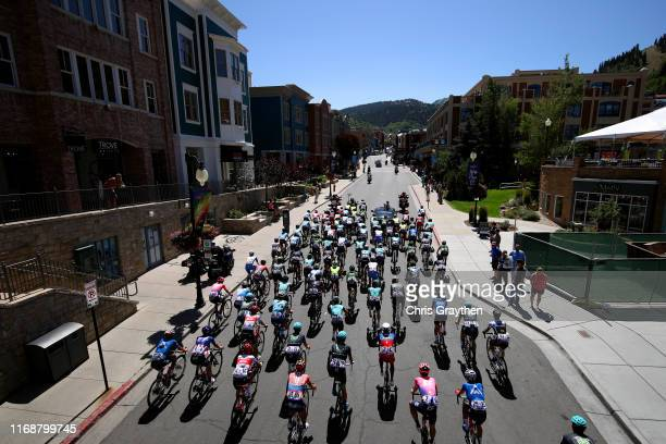 Start / Rob Britton of Canada and Team Rally UHC Cycling / Alex Howes of The United States and Team EF Education First / Juan Pedro Lopez Perez of...