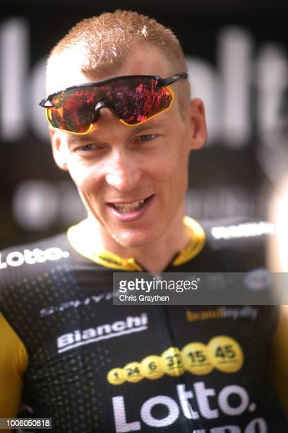 Start / Robert Gesink of The Netherlands and Team LottoNL - Jumbo / during the 105th Tour de France 2018, Stage 19 a 200,5km stage from Lourdes to...