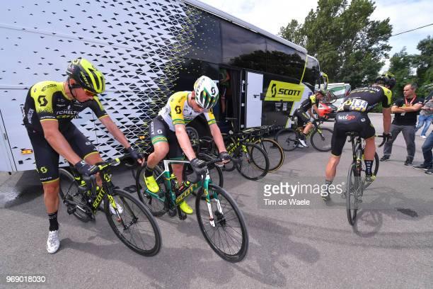 Start / Robert Power of Australia / Alexander Edmondson of Australia / Damien Howson of Australia / Carlos Verona of Spain / Team MitcheltonScott of...