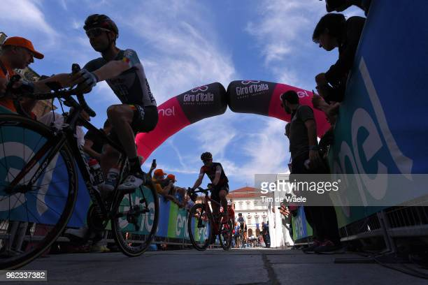 Start / Rohan Dennis of Australia and BMC Racing Team / Silhouet / during the 101st Tour of Italy 2018 Stage 19 a 185km stage from Venaria Reale to...