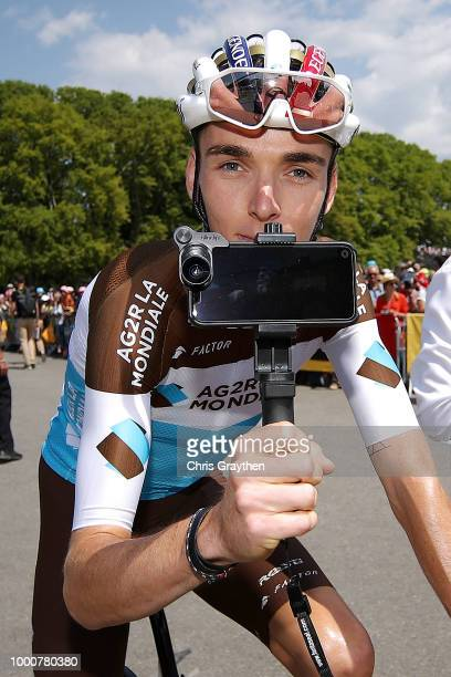 Start / Romain Bardet of France and Team AG2R La Mondiale / during the 105th Tour de France 2018 / Stage 10 a 1585km stage from Annecy to Le...