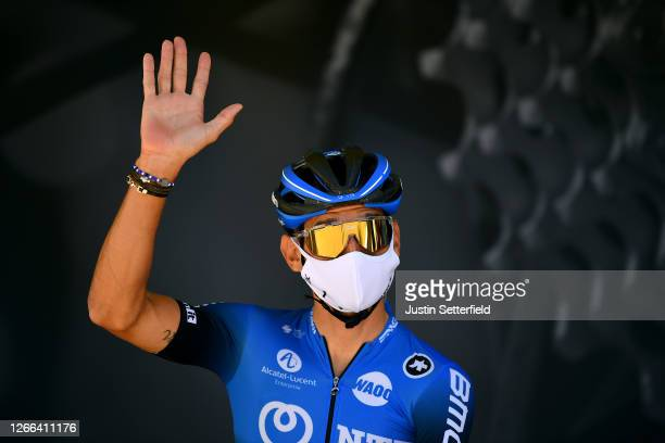 Start / Roman Kreuziger of Czech Republic and NTT Pro Cycling Team / Covid safety measures / Team Presentation / during the 72nd Criterium du...