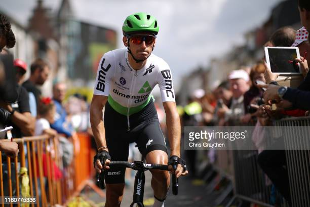 Start / Roman Kreuziger of Czech Republic and Team Dimension Data / Binche City / during the 106th Tour de France 2019, Stage 3 a 215km stage from...