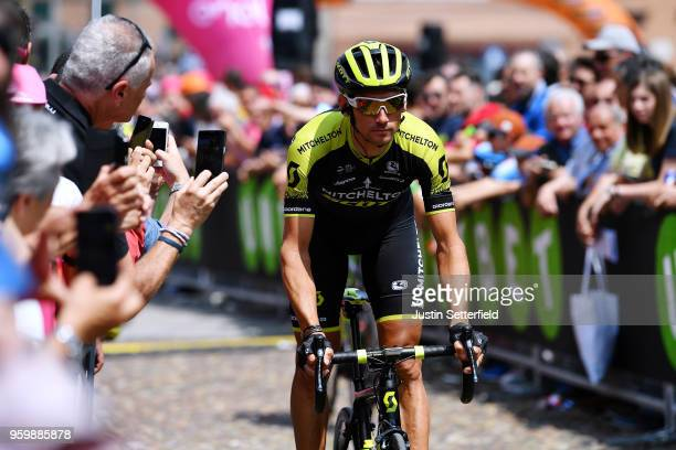 Start / Roman Kreuziger of Czech Republic and Team MitcheltonScott / Fans / Public / during the 101st Tour of Italy 2018 Stage 13 a 180km stage from...