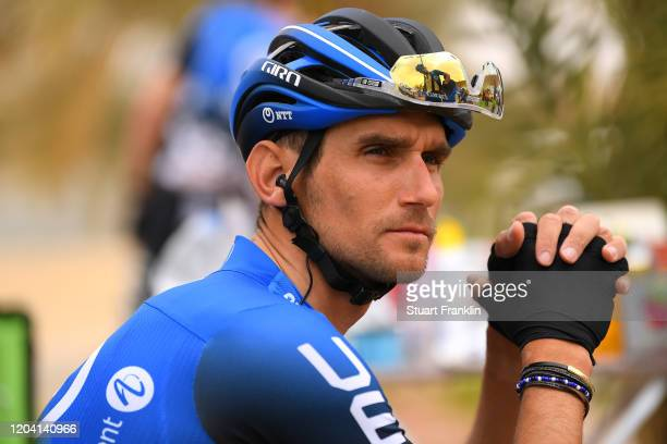Start / Roman Kreuziger of Czech Republic and Team NTT Pro Cycling / Sadus Castle / during the 1st Saudi Tour 2020, Stage 2 a 187km stage from Sadus...