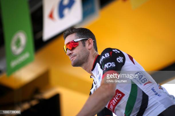 Start / Rory Sutherland of Australia and UAE Team Emirates / during the 105th Tour de France 2018 / Stage 10 a 1585km stage from Annecy to Le...