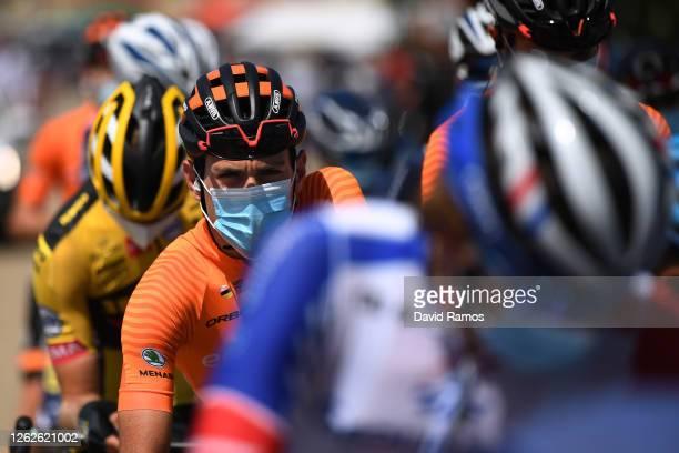 Start / Ruben Fernandez of Spain and Team Euskaltel-Euskadi / Sargentes de la Lora Village / during the 42nd Vuelta a Burgos 2020, Stage 3 a 150km...