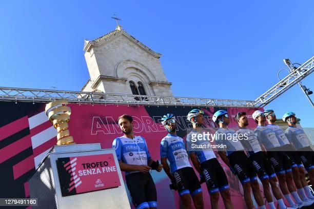 Start / Rudy Barbier of France, Matthias Brandle of Austria, Alexander Cataford of Canada, Davide Cimolai of Italy, Alex Dowsett of The United...