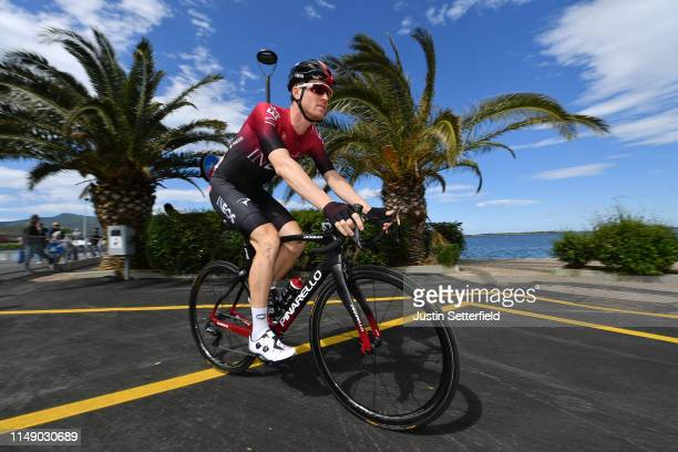 Start / Salvatore Puccio of Italy and Team INEOS / during the 102nd Giro d'Italia 2019, Stage 4 a 235km stage from Orbetello to Frascati 319m / Tour...