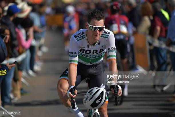 Start / Sam Bennett of Ireland and Team Bora-Hansgrohe / Aranda de Duero City / during the 74th Tour of Spain 2019, Stage 17 a 219,6km stage from...