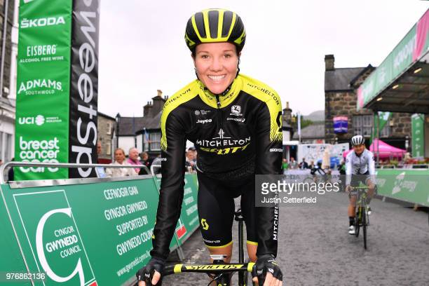 Start / Sarah Roy of Australia and Team MitcheltonScott / during the 5th OVO Energy Women's Tour 2018 Stage 5 a 122km stage from Dolgellau to Colwyn...