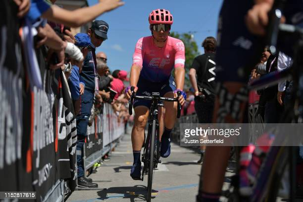 Start / Sean Bennett of The United States and Team EF Education First / Fans / Public / during the 102nd Giro d'Italia, Stage 19 a 151km stage from...