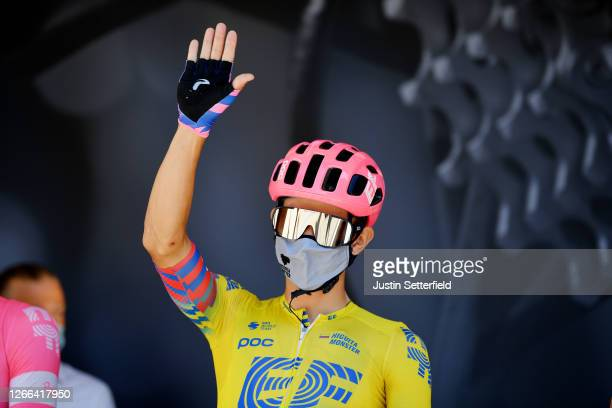 Start / Sergio Andres Higuita Garcia of Colombia and Team EF Pro Cycling / Covid safety measures / Team Presentation / during the 72nd Criterium du...