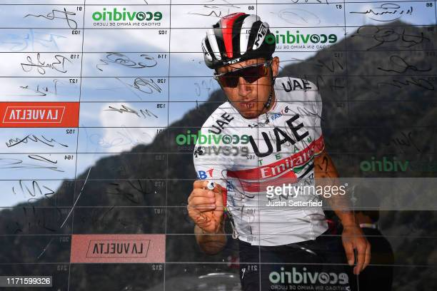 Start / Sergio Luis Henao Montoya of Colombia and UAE Team Emirates / Signature / Andorra la Vella City / during the 74th Tour of Spain 2019, Stage 9...
