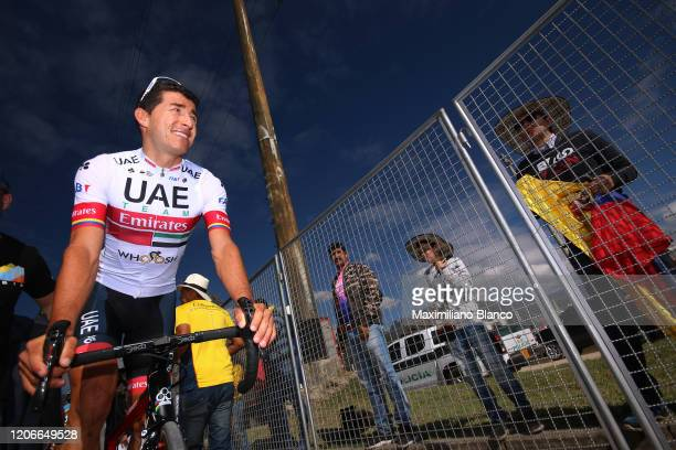 Start / Sergio Luis Henao Montoya of Colombia and UAE Team Emirates / during the 3rd Tour of Colombia 2020, Stage 6 a 182,6km stage from Zipaquirá to...