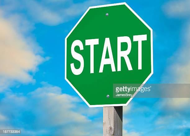 Start-Schild