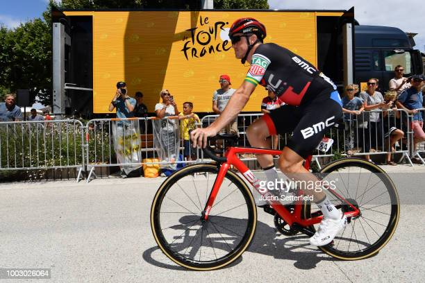 Start / Simon Gerrans of Australia and BMC Racing Team / during the 105th Tour de France 2018 Stage 14 a 188km stage from SaintPaulTroisChateaux to...