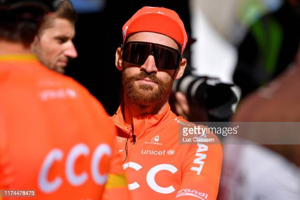 Start / Simon Geschke of Germany and CCC Team / Team Presentation / during the 10th Grand Prix Cycliste de Quebec 2019 a 201,6km stage from Québec to...