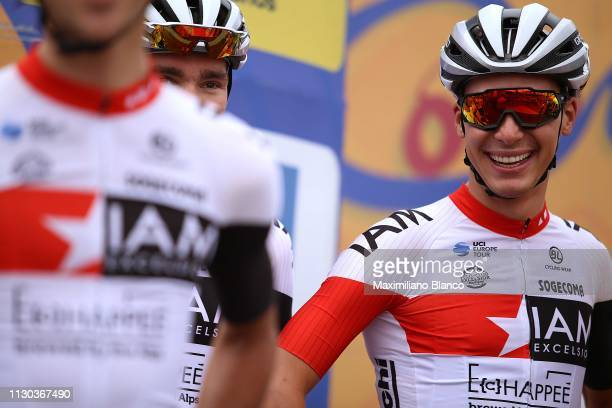 Start / Simon Pellaud of Switzerland and Team Iam Excelsior / during the 2nd Tour of Colombia 2019, Stage 6 a 173,8km stage from El Retiro to Alto...