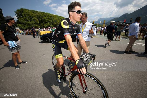 Start / Sylvain Chavanel of France and Team Direct Energie / during the 105th Tour de France 2018 / Stage 10 a 1585km stage from Annecy to Le...