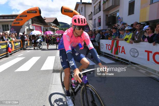 Start / Tanel Kangert of Estonia and Team EF Education First / Valdaora Village / during the 102nd Giro d'Italia 2019, Stage 18 a 222km stage from...