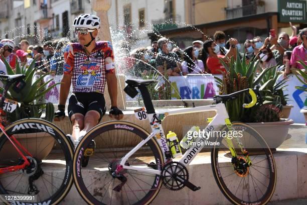 Start / Tanel Kangert of Estonia and Team EF Pro Cycling / Cannondale Bike / Santuario Maria SS. Dell'Alto / Alcamo Village / during the 103rd Giro...