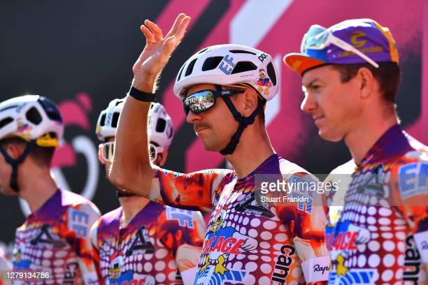 Start / Tanel Kangert of Estonia and Team EF Pro Cycling / Castrovillari Village / during the 103rd Giro d'Italia 2020, Stage 6 a 188km stage from...