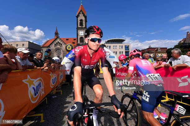 Start / Tao Geoghegan Hart of United Kingdom and Team INEOS / Sergio Andres Higuita of Colombia and Team EF Education First / Tarnowskie Góry City /...