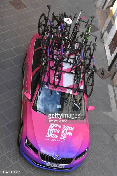Start / Team EF Education First Car / Cannondale Bike / Orbetello City / during the 102nd Giro d'Italia 2019, Stage 4 a 235km stage from Orbetello to...