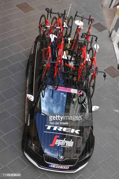 Start / Team Trek - Segafredo Car / Trek Bike / Orbetello City / during the 102nd Giro d'Italia 2019, Stage 4 a 235km stage from Orbetello to...
