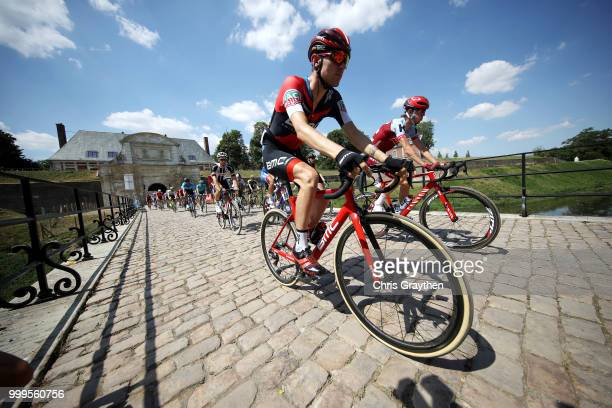 Start / Tejay Van Garderen of The United States and BMC Racing Team / Ilnur Zakarin of Russia and Team Katusha / during the 105th Tour de France 2018...