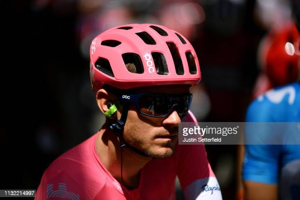 Start / Tejay van Garderen of The United States and Team EF Education First / Shadow / during the 5th UAE Tour 2019 Stage 3 a 179km stage from Al Ain...