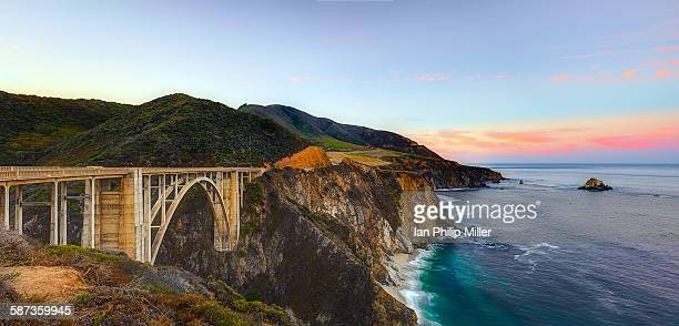 start the day off right - big sur stock photos and pictures
