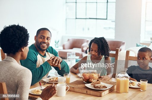 Start the day with family, laughter and food