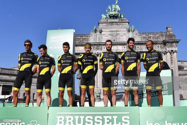 Start / Thomas Boudat of France / Jeremy Cornu of France / Damien Gaudin of France / Yohann Gene of France / Clement Orceau of France / Bryan Nauleau...