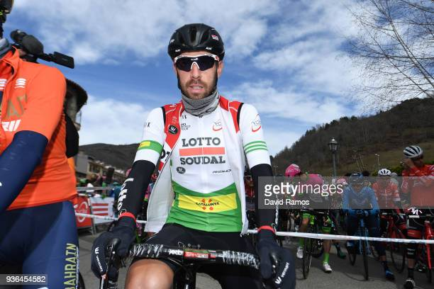 Start / Thomas De Gendt of Belgium and Team Lotto Soudal White Leader Jersey / during the 98th Volta Ciclista a Catalunya 2018 Stage 4 a 1708km stage...