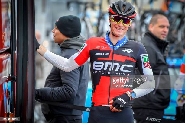 Start / Tom Bohli of Swiss and BMC Racing Team / during the 16th Handzame Classic 2018 a 1991km from Bredene to Handzame on March 16 2018 in...