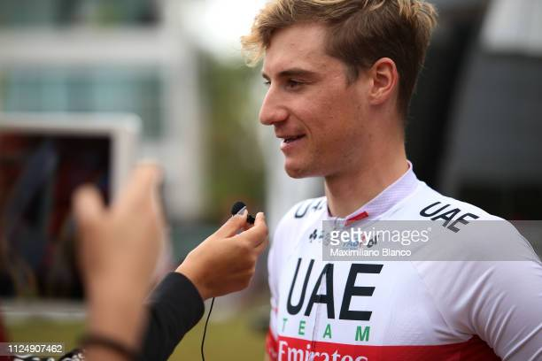 Start / Tom Bohli of Switzerland and Uae Team Emirates / Interview / during the 2nd Tour of Colombia 2019 Stage 3 a 1677km stage from Complex...