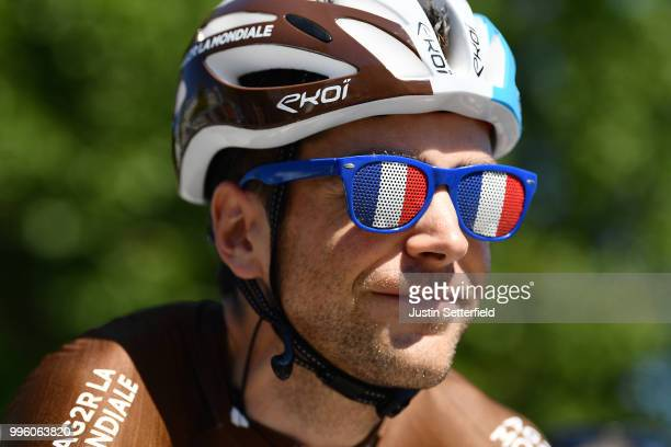 Start / Tony Gallopin of France and Team AG2R La Mondiale / French Sunglasses / Lorient City / during the 105th Tour de France 2018 Stage 5 a 2045km...