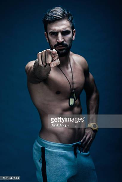 you ! start training now - handsome bodybuilders stock pictures, royalty-free photos & images