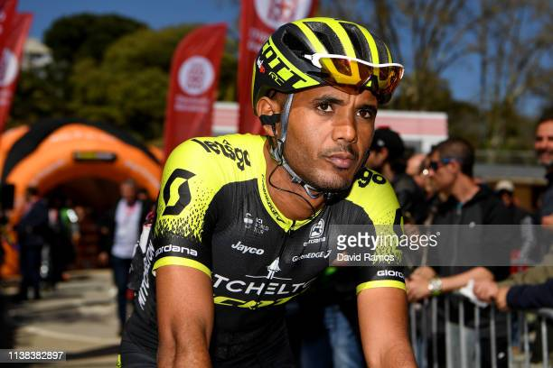 Start / Tsgabu Grmay of Ethiopia and Team Mitchelton - Scott / during the 99th Volta Ciclista a Catalunya 2019, Stage 2 a 166,7km stage from Mataró...