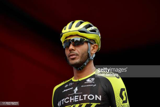Start / Tsgabu Grmay of Ethiopia and Team Mitchelton-Scott / during the 74th Tour of Spain 2019, Stage 3 a 188km stage from Ibi. Ciudad del Juguete...