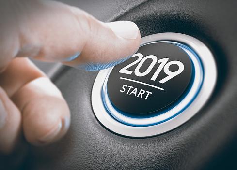 2019 Start, Two Thousand Nineteen. 912425208