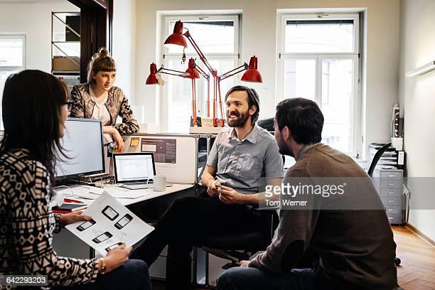 Start up business meeting