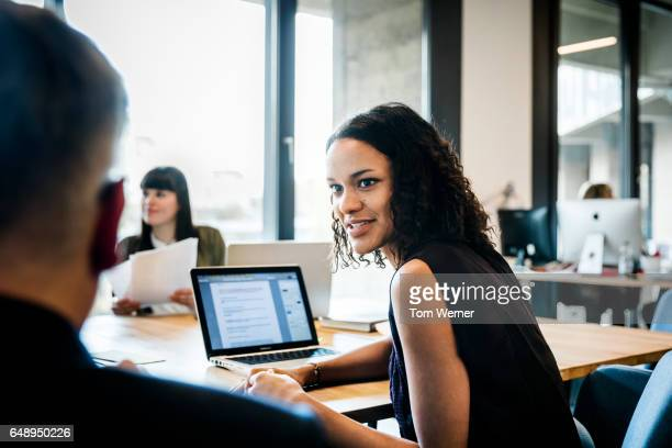 start up business people during a kick off meeting - vanguardians stock pictures, royalty-free photos & images