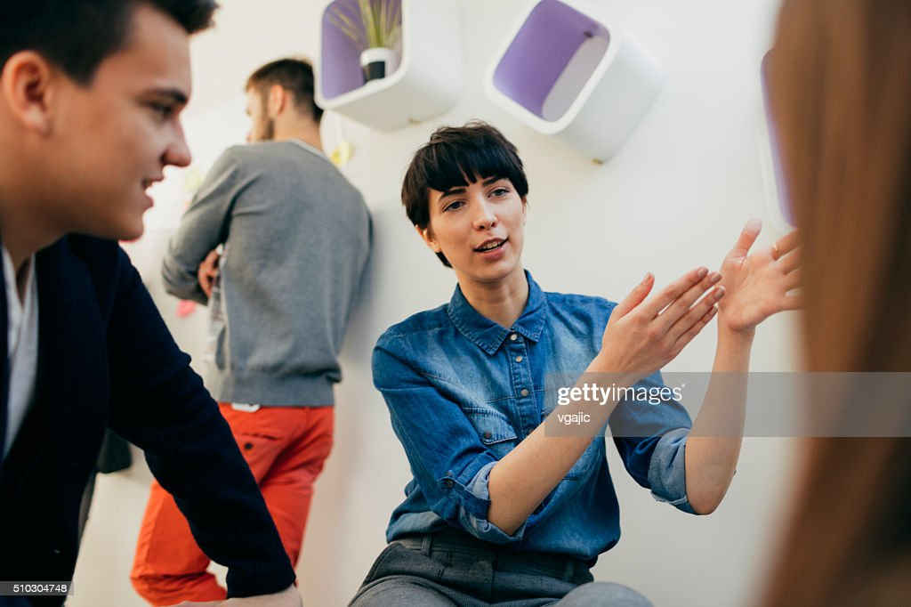 Start Up Team At Work. : Stock Photo