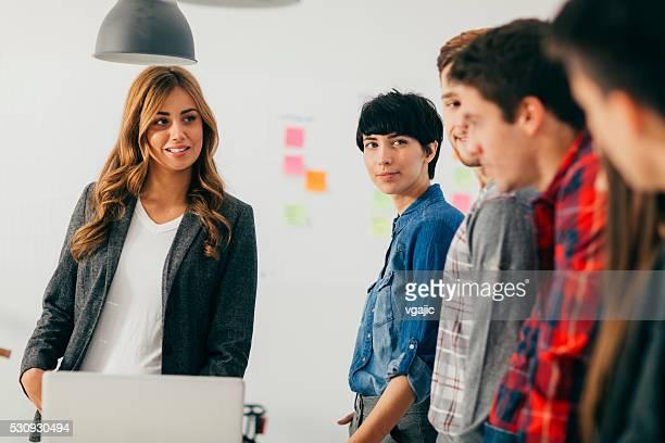 Start Up Team Briefing.