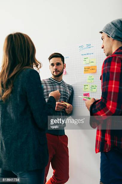 Start Up Team Collaborating.